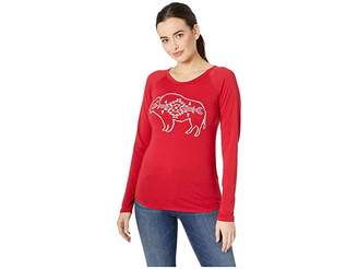 Rock and Roll Cowgirl Long Sleeve Knit 48T8282