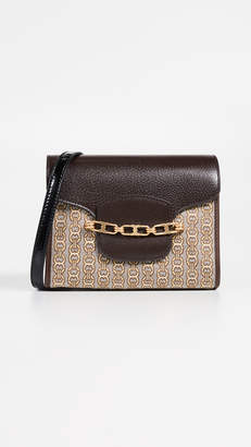 Tory Burch Gemini Link Jacquard Small Crossbody Bag
