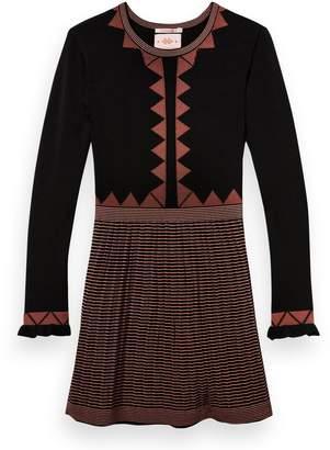Scotch & Soda Pattern Knit Dress