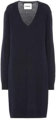 Jil Sander Wool and cashmere-blend dress