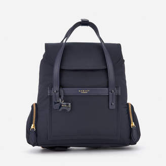 Radley Women's River Street Medium Flapover Backpack - Ink
