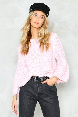 Nasty Gal You're No Knitter Sweater
