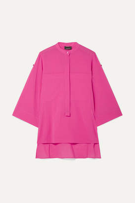 Akris Cotton-gauze Blouse - Pink