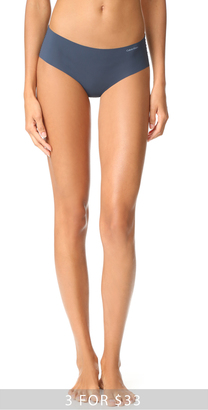Calvin Klein Underwear Invisibles Hipster Panties $13 thestylecure.com