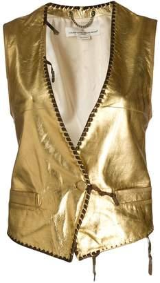 Golden Goose Shiori metallic waistcoat