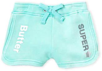 0a3257a681e Butter Shoes Girls 4-6x) Bermuda Studded Varsity Shorts