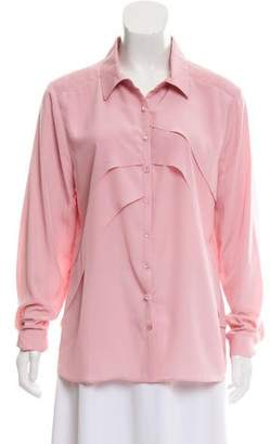Yoana Baraschi Layered Detail Button-Up Blouse