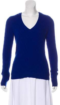 Ralph Lauren Black Label Cashmere Cable-Knit Sweater