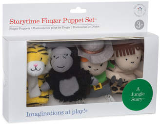 story. Manhattan Toy Storytime A Jungle Finger Puppet Set