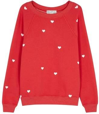 Wildfox Couture Lovestruck Sommers Fleece Sweatshirt