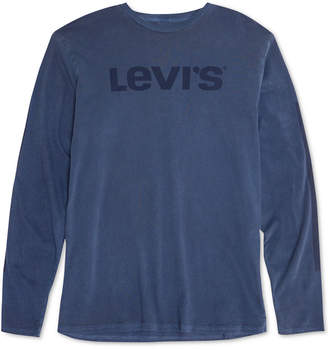 Levi's Men's Logo Long Sleeve T-Shirt