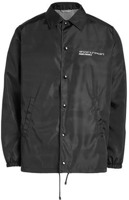 Valentino Coach Fabric Jacket