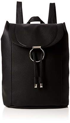 New Look Womens Ring Detail Backpack Handbag