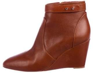 Loeffler Randall Leather Wedge Booties