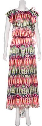 Alexis Printed Maxi Dress