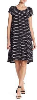 Karen Kane Maggie Short Sleeve Polka Dot Dress