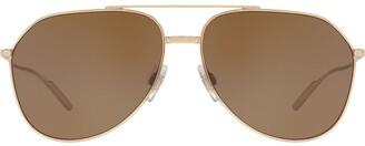 Dolce & Gabbana Eyewear tinted aviator sunglasses