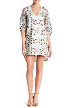 Let Me Be Beautiful Escape Silk Sleeve Dress