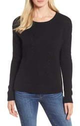 Halogen Whipstitch Detail Sweater