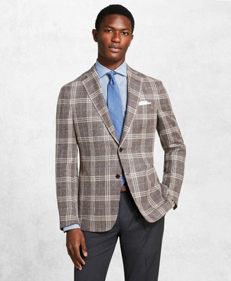 Brooks Brothers Golden Fleece Checked Twill Sport Coat