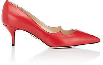Paul Andrew Women's Zenadia Eel-Skin Pumps - Red