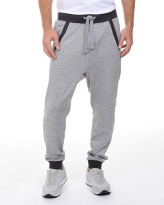 2Xist French Terry Drop-Inseam Sweatpants, Light Gray $64 thestylecure.com