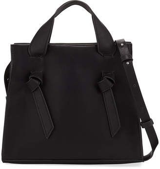 French Connection Aria Small Leather Tote Bag