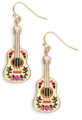 Women's Kate Spade New York Guitar Drop Earrings $68 thestylecure.com