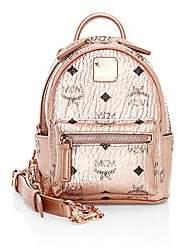 MCM Women's Mini Essential Visetos Original Crossbody Backpack