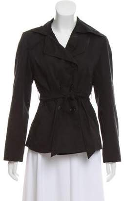 Max Mara Double-Breasted Belted Jacket
