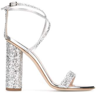Giuseppe Zanotti glitter detail sandals