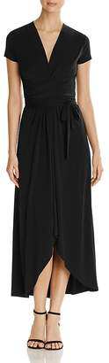 MICHAEL Michael Kors Cap Sleeve Maxi Wrap Dress $125 thestylecure.com