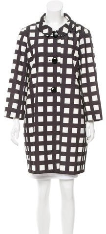 Kate Spade New York Printed Trench Coat