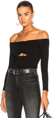 T By Alexander Wang Cut Out Bodysuit