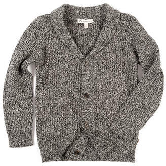 Appaman Shelby Shawl-Collar Cardigan Sweater, Size 2-10