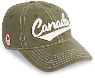 Canadian Olympic Team Collection Canada Script Cotton Baseball Cap