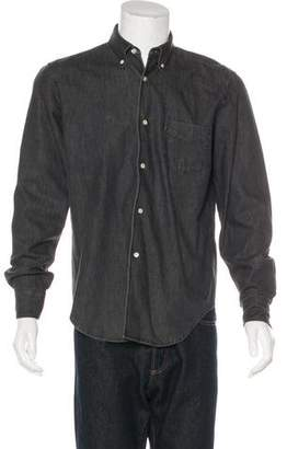 Our Legacy Denim Button-Up Shirt