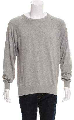 Peter Millar Woven Crew Neck Sweater