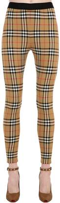 Burberry Checked Lycra Leggings