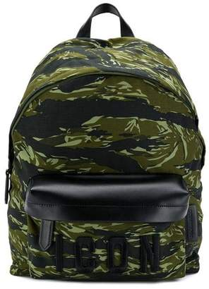 DSQUARED2 camouflage print Icon backpack