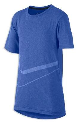 Nike Boys' Breathe Graphic Training Tee - Big Kid