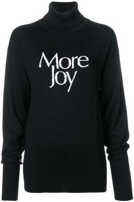 Christopher Kane 'More Joy' turtleneck knit