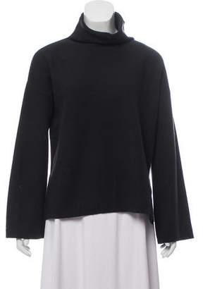 Loro Piana Funnel Neck Baby Cashmere Sweater