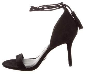 Michael Kors Suede Lace-Up Sandals w/ Tags