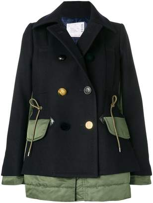 Sacai double-breasted jacket