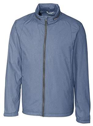 Cutter & Buck Men's Weathertec Wind-Water Resistant Packable Panoramic Jacket