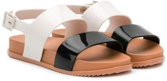 Mini Melissa colour-blocked sandals