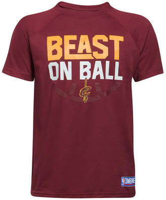 Under Armour Cleveland Cavaliers Combine Beast on Ball T-Shirt, Big Boys (8-20)