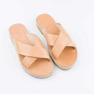 NEW Cross Over Sandals in Tan Women's by Banjarans Leather Sandals