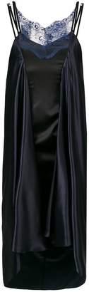 Y/Project Y / Project draped silk dress